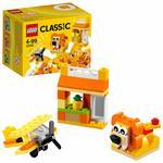 LEGO Classic Orange Creativity Building Blocks for Kids , Multi Colour (60 pcs) 10709
