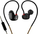 boAt Nirvanaa Uno in-Ear Earphones with Mic (Black) collect coupon & pay with BHIM UPI