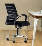 Boom High Back Ergonomic Chair in Black Colour by Emperor ( Use coupon WOW40)