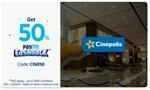 Paytm : Get 50% Cashback Upto 200 (CINE50) (Select Cinema) ( Min 2 Tickets)